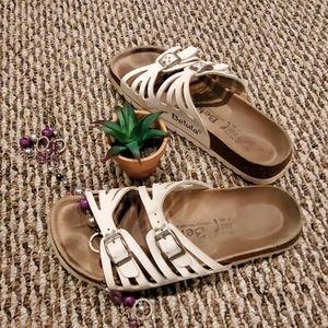 Betula by Birkenstock White Sandals